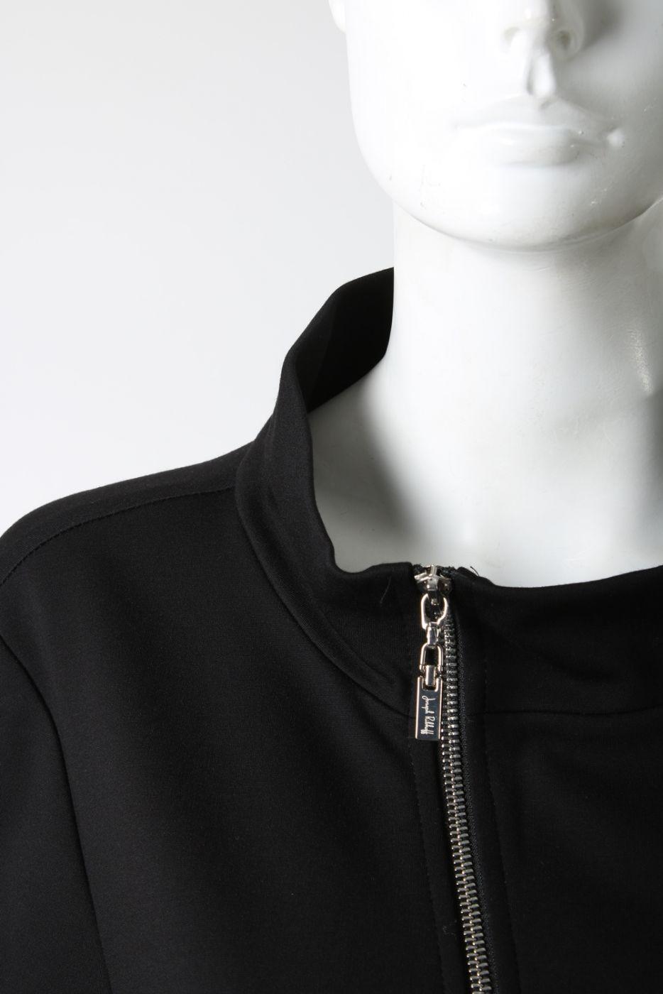 fefacd3f Piękny czarny płaszcz Ribkoff,rękaw 3/4. Tył dłuższy. | sklep ...