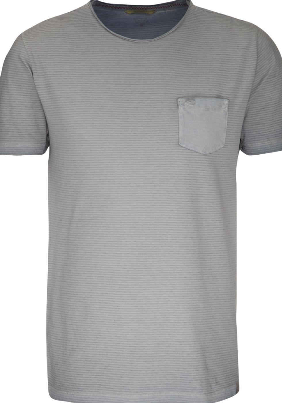 new arrival c2b6e ef056 Komfortowy t-shirt camel activ w kolorze szarym z ...